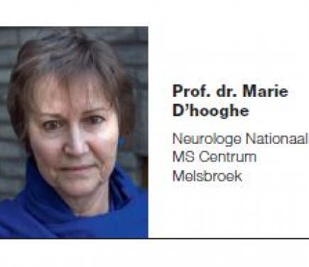 Prof. dr. Marie D'hooghe vraagt meer aandacht voor onzichtbare MS symptomen.